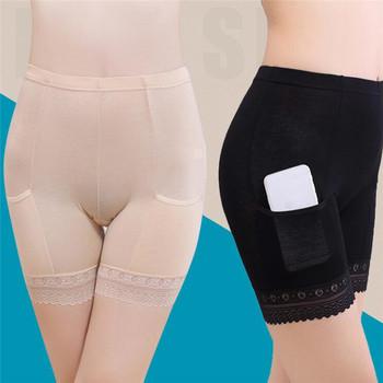 2021 Boxer femme kobiety miękka bawełniana koronkowa bezszwowa bezpieczeństwo krótkie spodnie letnia spódnica spodenki modalne z kieszeniami krótkie rajstopy tanie i dobre opinie Bezszwowy Plus size oddychająca CN (pochodzenie) 587038