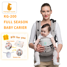 Kangarouse Full Season cotton ergonomic baby carrier baby sling for newborn to 36 month KG-200