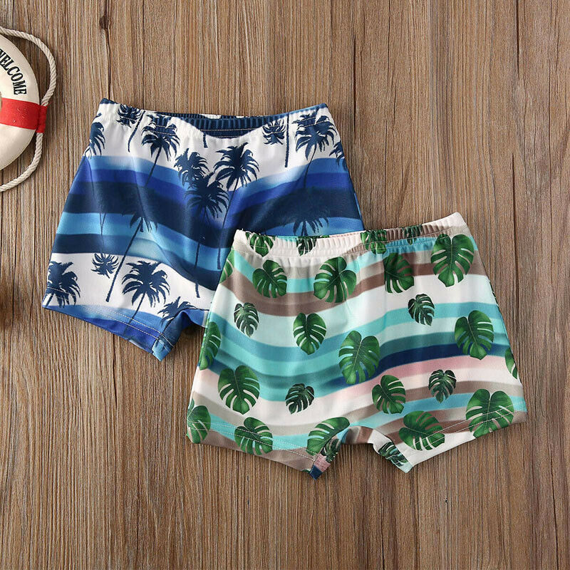 2020 Newest Arrival Summer Toddler Kids Baby Boy Floral Swimming Pants Beach Shorts Bottoms Panties Board Shorts 2