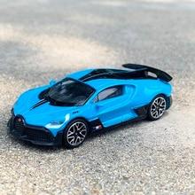 JKM 1/64 масштаб Buga * tti DIVO синий литый под давлением автомобиль модель игрушка Подарочная коллекция