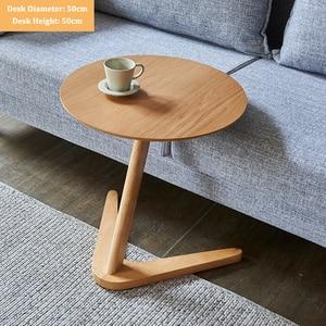 Image 3 - Padroni di casa Mobili Tavolo Rotondo Tavolino per Soggiorno Piccolo Comodino Design del Tavolo Tavolino Sofaside Minimalista Piccola Scrivania