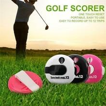3 Colors Golf Score Counter Mini Hat Attached Golf Stroke Sc