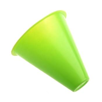 цена на 5pcs 3 inches cones for Slalom Skate Roller-Skating - Green