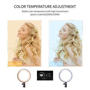 Image 5 - Chụp Ảnh Đèn LED Đính Hạt Softbox Bộ Đèn Kit 2 Màu Ánh Sáng Liên Tục Mềm Hộp 45W Hệ Thống Phụ Kiện Chụp Ảnh Phòng Thu video