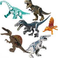 Neue Jurassic Welt 2 Dinosaurier Figuren Tyrannosaurus Rex Indominus Rex Legoinglys Bausteine Ziegel Spielzeug Für Kinder