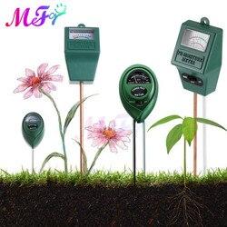 3 in 1 Soil Ph Meter Soil PH Moisture Tester Outdoor Sunlight Intensity Measurement Tool Analysis Acidity Alkali Hygrometer