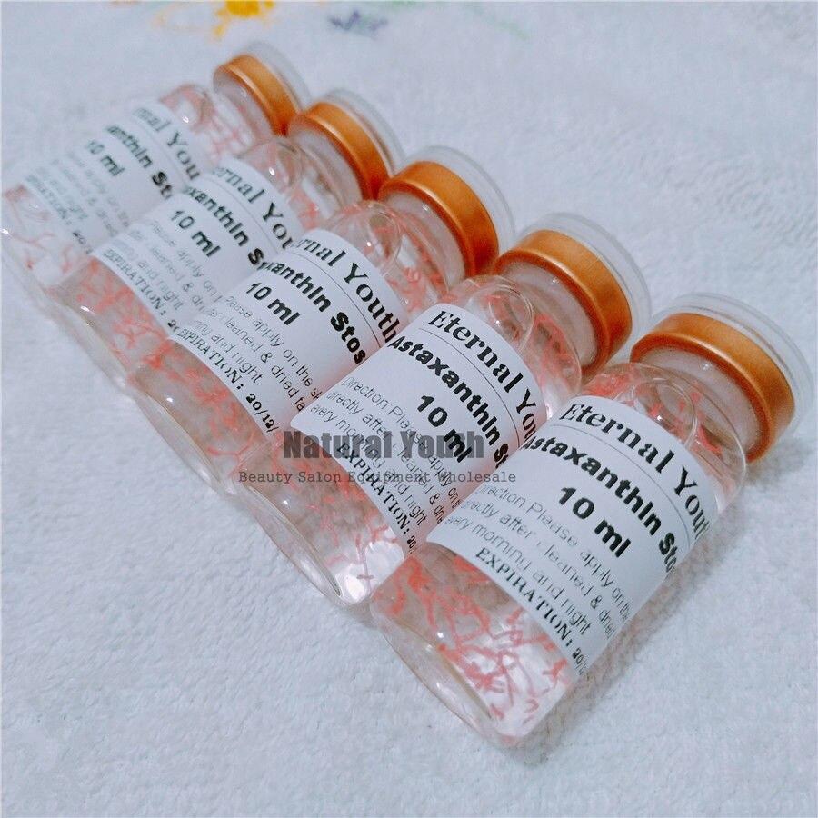 10ml Astaxanthin Acid Eye Dark Circle Eye Bag Treatment Skin Firming Serum
