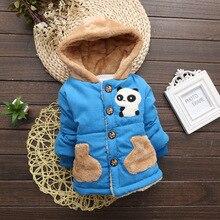 Coat Baby-Boys Children Winter Outerwear Toddler Autumn Kids Cartoon for Jacket Warm