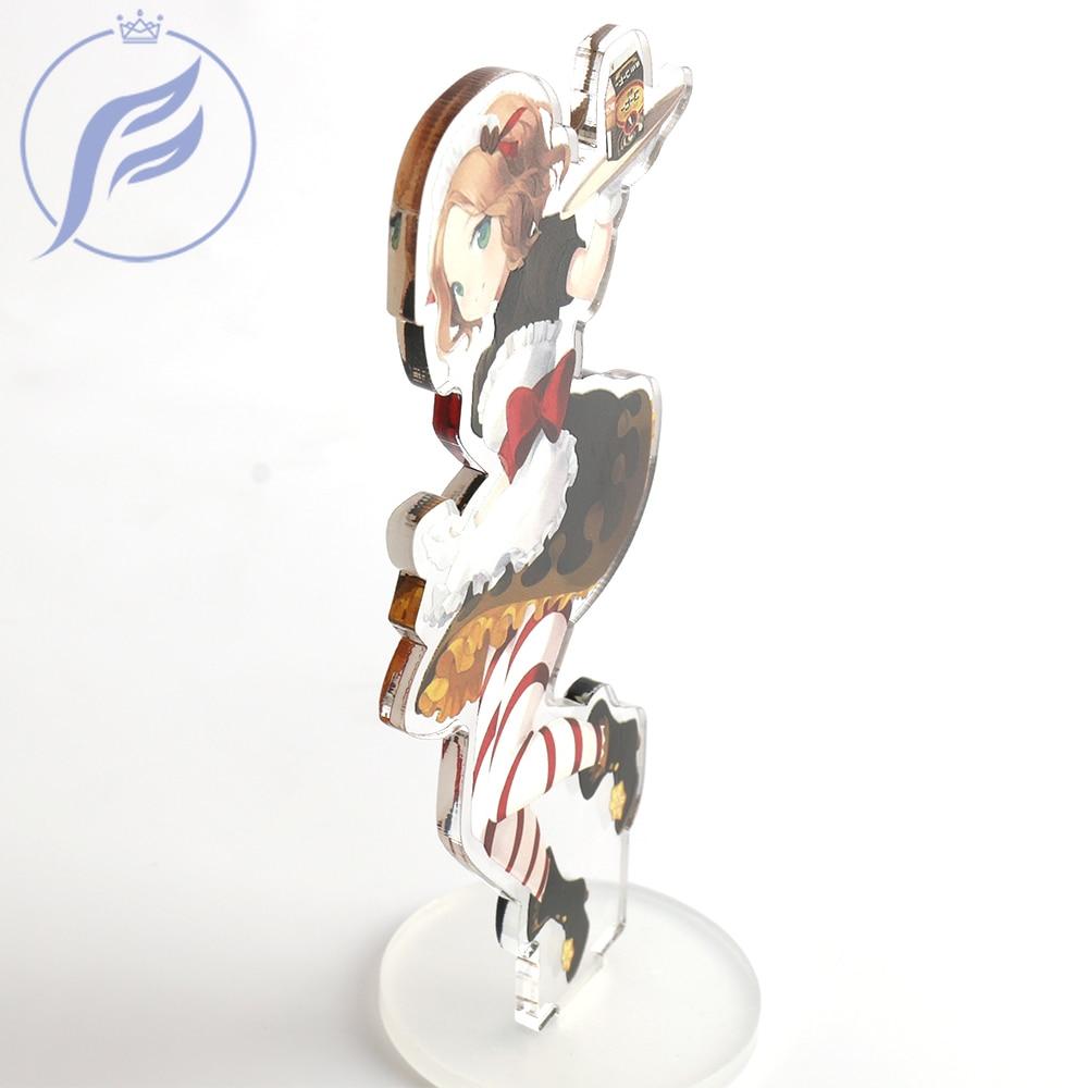 FANGQINGMA Customized Printed Anime Charm Acrylic Stand Figure Model