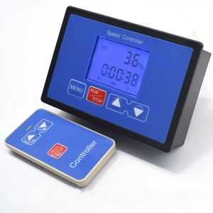 Image 2 - LCD Smart Digital Display 0~100% Tachometer adjustable 30A PWM DC Motor Speed Controller Timing Remote control 12V 24V 36V 48V
