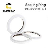 Tamanho customizável das janelas protetoras da arruela do o-ring de cloudray para a cabeça 1064nm do laser da fibra