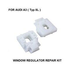 X2 OE #8L4837461, 8L4837462 untuk Audi A3 8L Jendela Regulator Perbaikan Kit Depan Kanan/Kiri 96-03 * Baru *