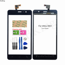 5.5inch Mobile Touch Screen Panel For Infinix Hot Note X551 HotNote Touch Screen Front Glass Sensor Digitizer Tools Adhesive