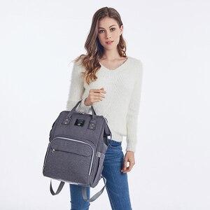 Image 2 - Multifunktions Baby Tasche Erweitert Schulter Gurt Große Kapazität Mutterschaft Taschen Wasserdichte Reise Frauen Mode Windel Tasche Rucksack