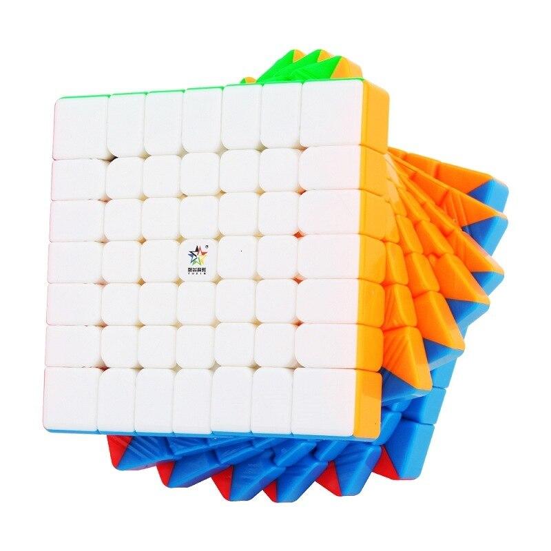 Yuxin 7x7x7 Magnétique Professionnel Cube Magique Vitesse 67.5mm Cube Oringal Aimants Puzzle Cubo Magico Jouets Pour Enfants