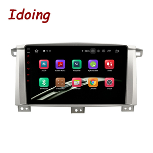 """Image 5 - Idoing 9""""/10.2 inch Octa Core Car Android 9.0 Radio Multimedia Player For Toyota Land Cruiser LC 100 2002 2007 GPS Navigation"""