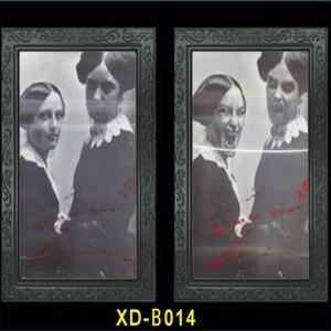 Image 4 - Verwisselbare 3D Ghost Foto Frame Halloween Decoratie Spooky Vrijgezellenfeest Supplies Craft Levert Halloween Props