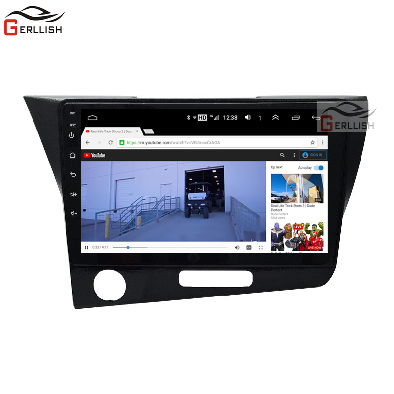 Android 8.1 browser gps multimedia player auto car radio 1 din android for Honda CR-Z / CRZ 2011-2015 Left driving image