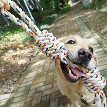 Juguetes Para Mascotas de 60CM, cuerda Molar para morder, juguetes para perros grandes, juguetes para perros rottweiler, Golden Retriever, juguetes para masticar dientes, MJ72806
