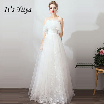 It's Yiiya White Evening Dress Short Sleeve Off The Shoulder Evening Dresses Long A-Line Ruched Boat Neck Robe De Soiree K390