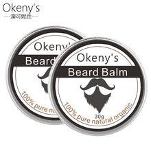 2pcs Dexe Beard Oil Men Moustache Wax Balm Beard Care Beard Shaping Aftershave f