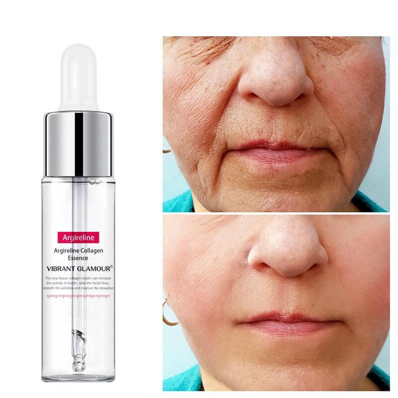 15ml קולגן פנים סרום אנטי אייג 'ינג קמטים מהות קרם מעלית מיצוק הלבנת לחות פנים טיפוח עור