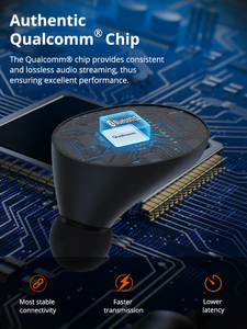 Image 2 - Tronsmart Spunky Beat Bluetooth TWS Earphone APTX Wireless Earbuds with QualcommChip, CVC 8.0, Touch Control