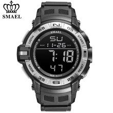 Nouveau SMAEL haut de gamme marque hommes montre numérique étanche Sport poignet montre LED lumineux militaire Date montres Relogio Masculino