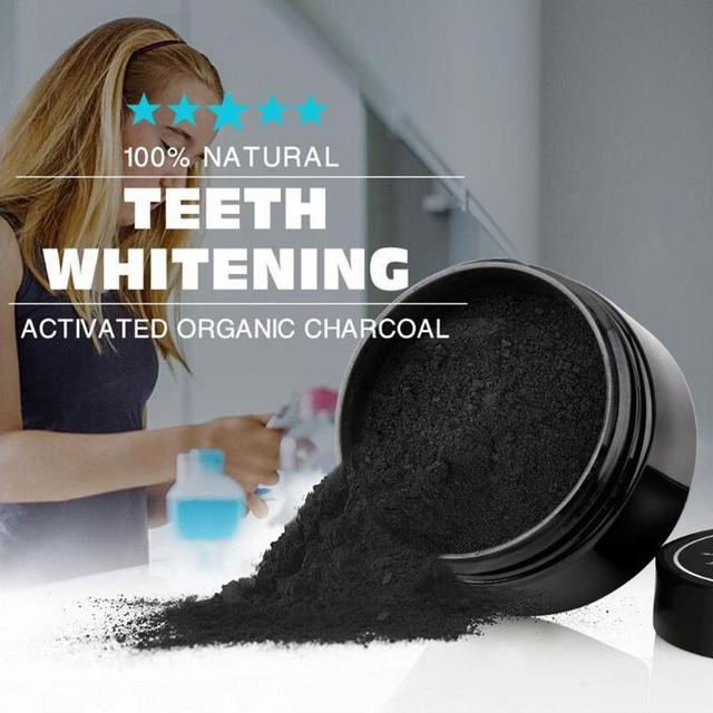 Coconut Shells Activated Carbon Teeth Whitening Organic Natural Bamboo Charcoal Toothpaste Powder Wash Your Teeth White