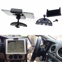 Novo carro auto cd montagem tablet pc suporte berço para almofada 2 3 4 5 ar para galaxy tab