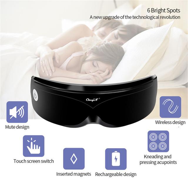 Øjenmassager Vibrationsmagnetisk akupunktur