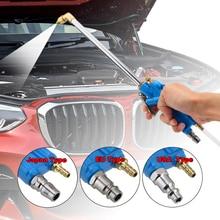 Alta imprensa ferramenta de limpeza pneumática pistola água do motor com 100cm mangueira 40cm motor carro ferramentas mais limpas óleo