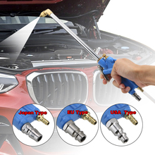 Wysokowydajne pneumatyczne urządzenia do oczyszczania silnika pistolet na wodę z wężem 100cm 40cm silnik samochodowy narzędzia do czyszczenia oleju