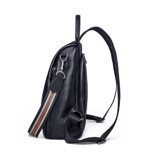 Image 4 - ZOOLER 2020 NEW Black Travel Bag Real Leather Backpack Women Genuine Leather Backpacks Fashion Luxury Backpack Bags Girls#HS209