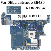 Kocoqin placa-mãe do portátil para dell latitude e6430 mainboard CN-03MXTJ 03 mxtj qal81 LA-7782P slj8a N13M-NS1-A1