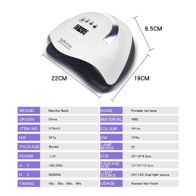 Сушилка для ногтей Светодиодная УФ-лампа для ногтей 5