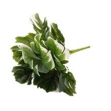 1 пачка листья в форме Панциря Черепахи вазы для домашнего декора ремесла Скрапбукинг свадебные аксессуары оформление Искусственные растения