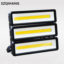 Outdoor 100W 150W 200W LED Flood Light 110V 220V 240V Waterproof Wall FloodLight Warm White Cold White LED Projector Spotlight brightinwd 10pcs ufo high bay 100 265v 100w 150w 200w led flood light smd3030 garage light industrial led lamp warm cold white