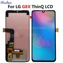 6.4 LG G8X ThinQ LCD תצוגה עם מסך מגע החלפת Digitizer עם כלים עבור LG G8X LCD תצוגה