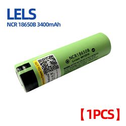 LELS NCR18650B 3.7V 3400mAh 18650 Lithium Rechargeable Battery For Flashlight batteries (NO PCB)