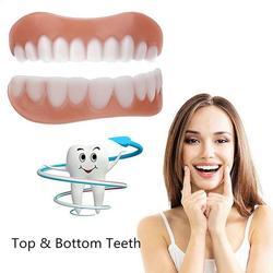 New Teeth Comfort Cosmetic Teeth Denture Teeth Top Cosmetic Veneer Simulation Braces Teeth Tool Upper / Lower