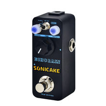 Sonicake Echo Rain Digital Delay Pedal True Analog Signal Path Clear Warm ข้อเสนอแนะ QSS-03(China)