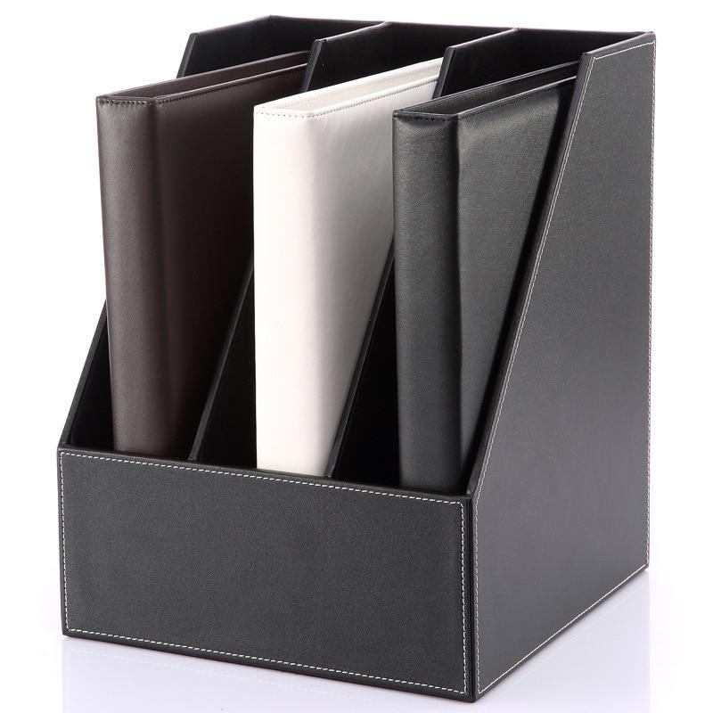 Desk Magazine Organizers Book Holder Storage Organizer Paper Shelf Rack 270*270*340 mm