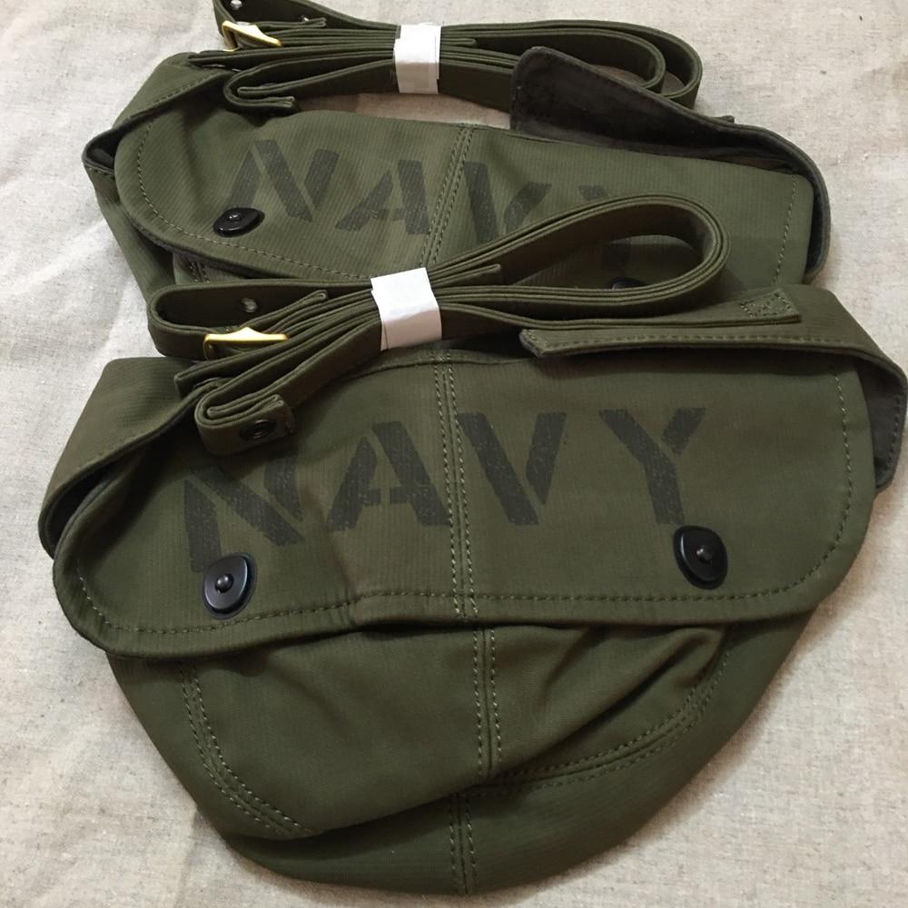 Bolso de hombro militar para hombre N1, bolsa de cubierta de la Marina, riñonera multifuncional para hombre, sombreros de color verde militar, bolso de cintura para hombro, US Navy