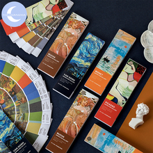 YueGuangXia Picasso Reknowned Artist Washi Paper Sticker Pad Creative Bullet Journal Scrapbooking Deco Bookmark 40pcs