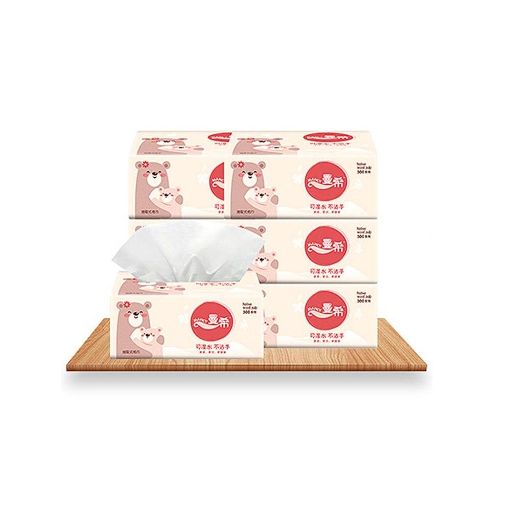 10 Pieces Napkin Paper Custom Paper Single Paper Pumping Toilet Paper Virgin Pulp Paper For Bathroom Kitchen
