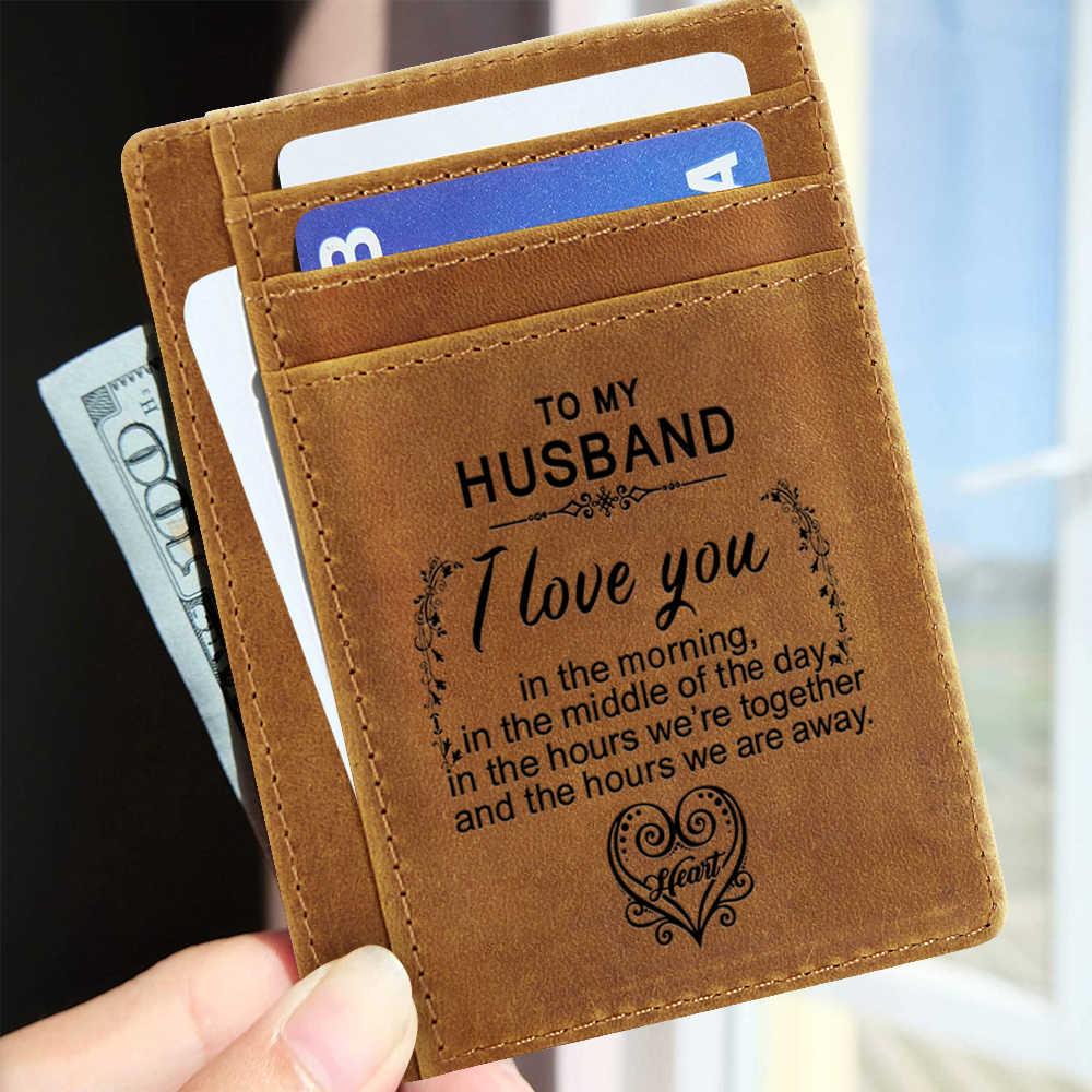 แกะสลักบาง Casual Wallets หนังสือเดินทางหนังวัวแท้ขนาดเล็ก ID Card Holder บัตรเครดิตกระเป๋าสตางค์ผู้ชายกระเป๋าสตางค์