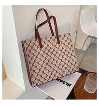 Текстурированная Вместительная женская сумка новинка осень зима