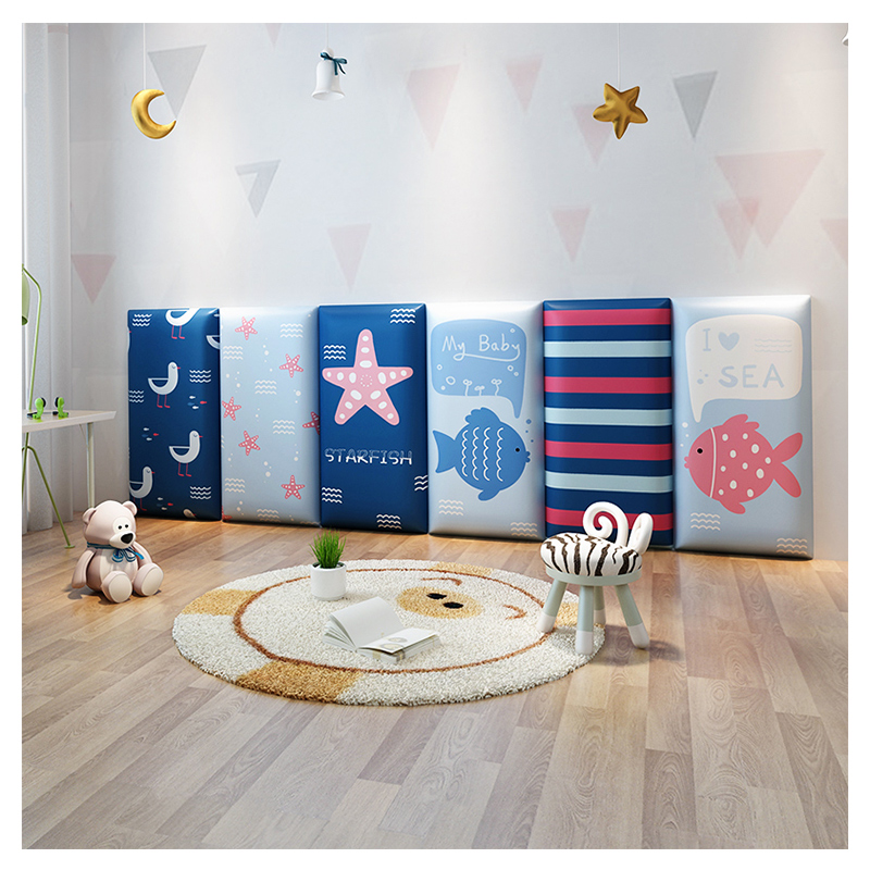 Tatami Children's Anti-collision Soft Wall Wall Headboard Background Wall Anti-collision Wall Stickers Wall Soft Bag Wall Mat