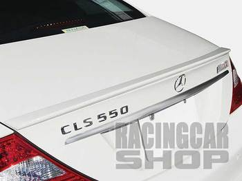 TRUNK BOOT LIP SPOILER fit for MERCEDES BENZ W219 CLS CLS500 CLS550 CLS63 CLS350 2004-2010 M047F 1